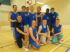Hongan A-poikien joukkue Otanmäen turnauksessa 23.3.2013.