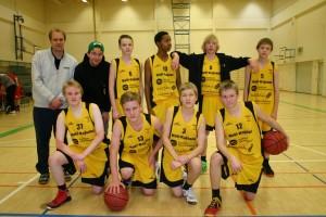 B-pojat Kuopiossa 12.1.2014.