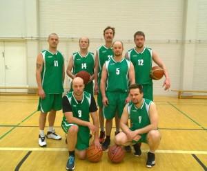 Ikihongan joukkue Kajaanin turnauksessa 23.1.2016